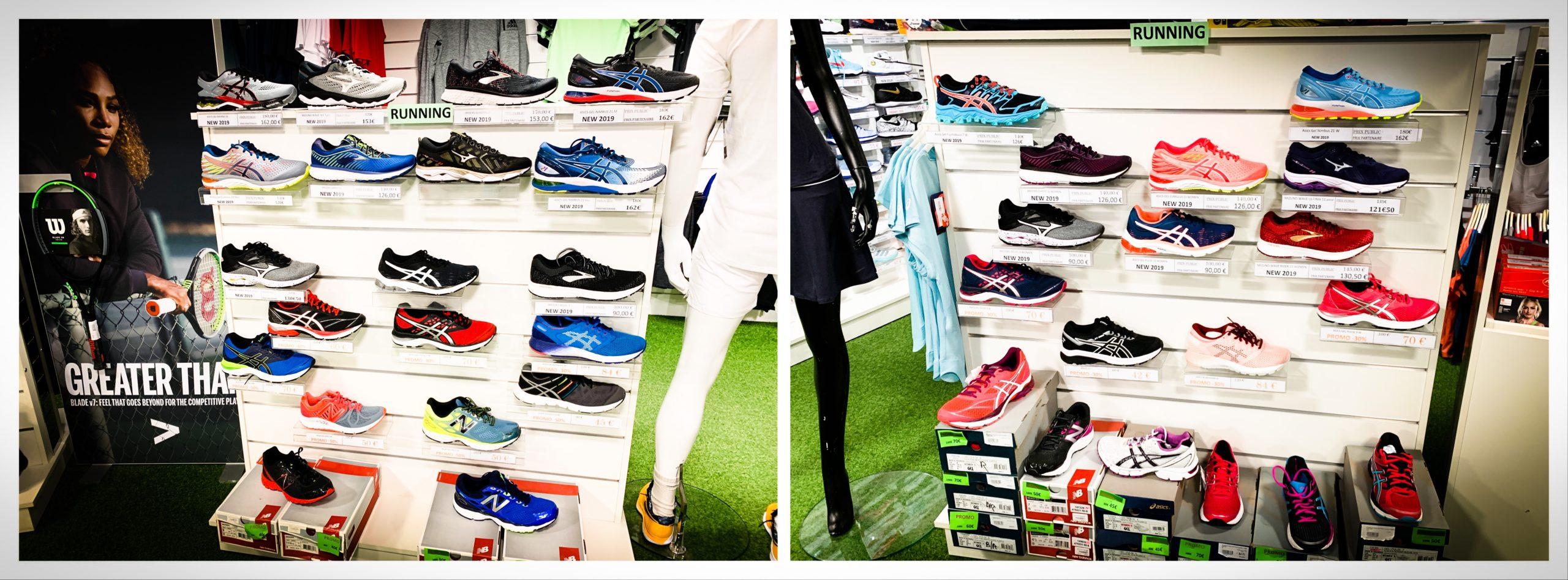Boutique running Val d'oise chez Ecosport tennis
