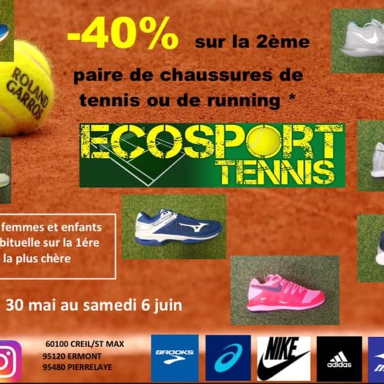 promotions chaussures tennis, chaussures running , paris , Idf ,95,78,92,75