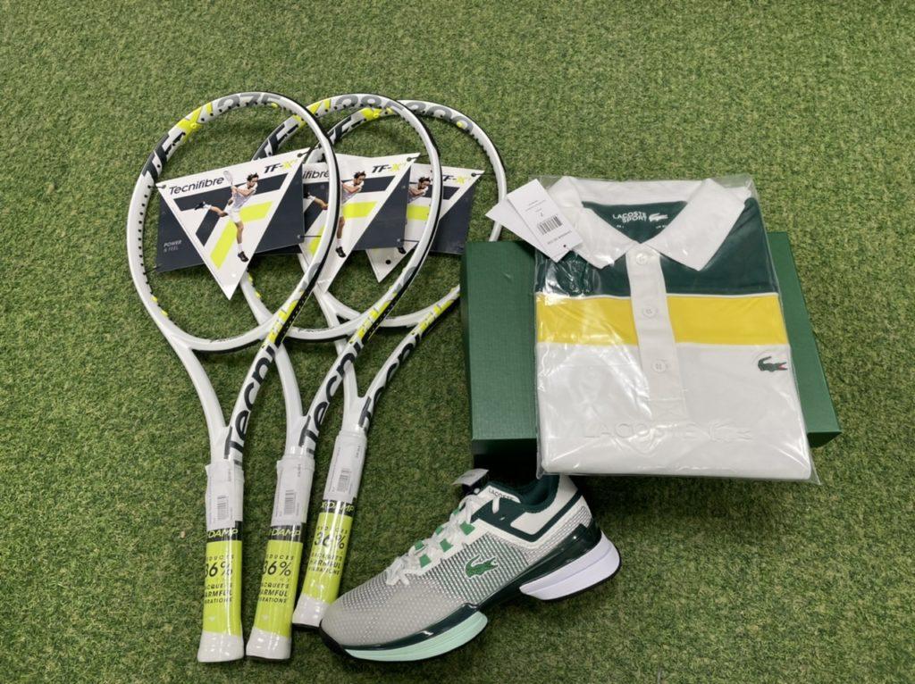 Nouvelle collection Lacoste dispo chez Ecosport Tennis