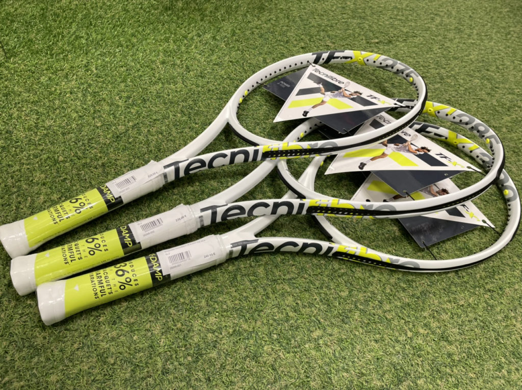 Les nouvelles raquettes  X1 de chez Tecnfibre dispos !